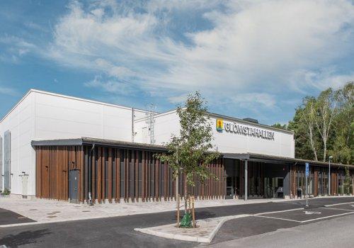 Invigning av ny sporthall