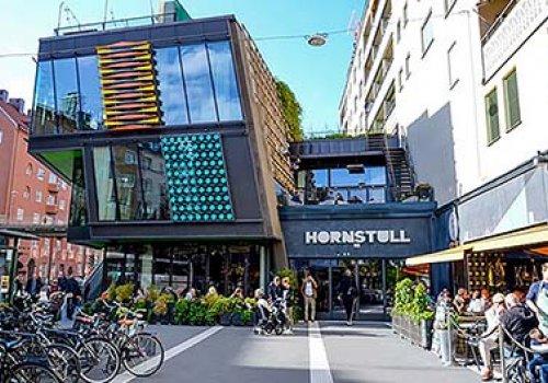 Hornstull, Bulten 19 Handelsplats